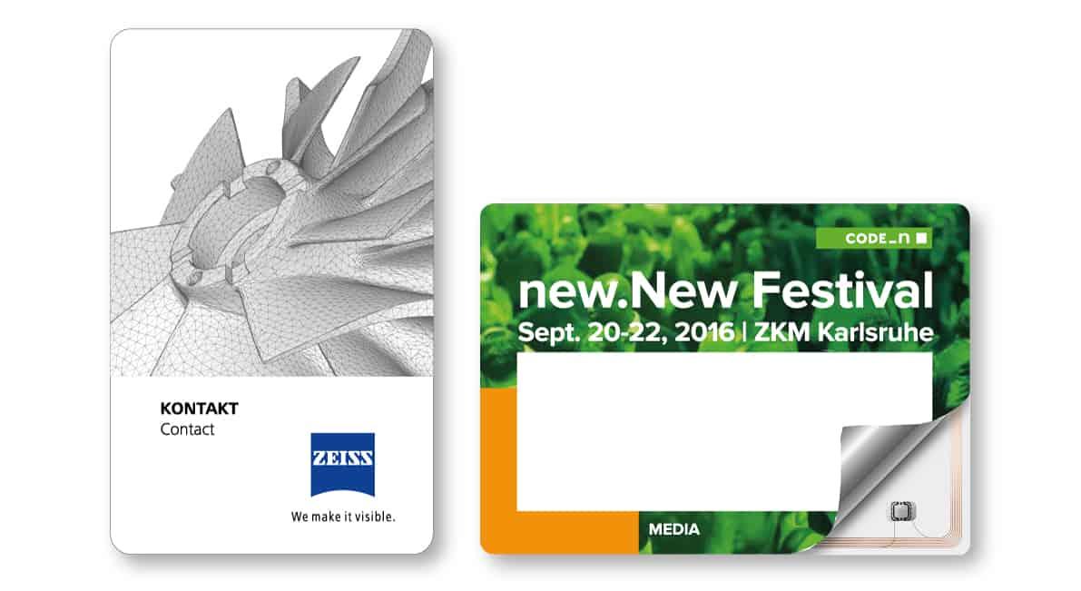 RFID-Karten - Sonderformate