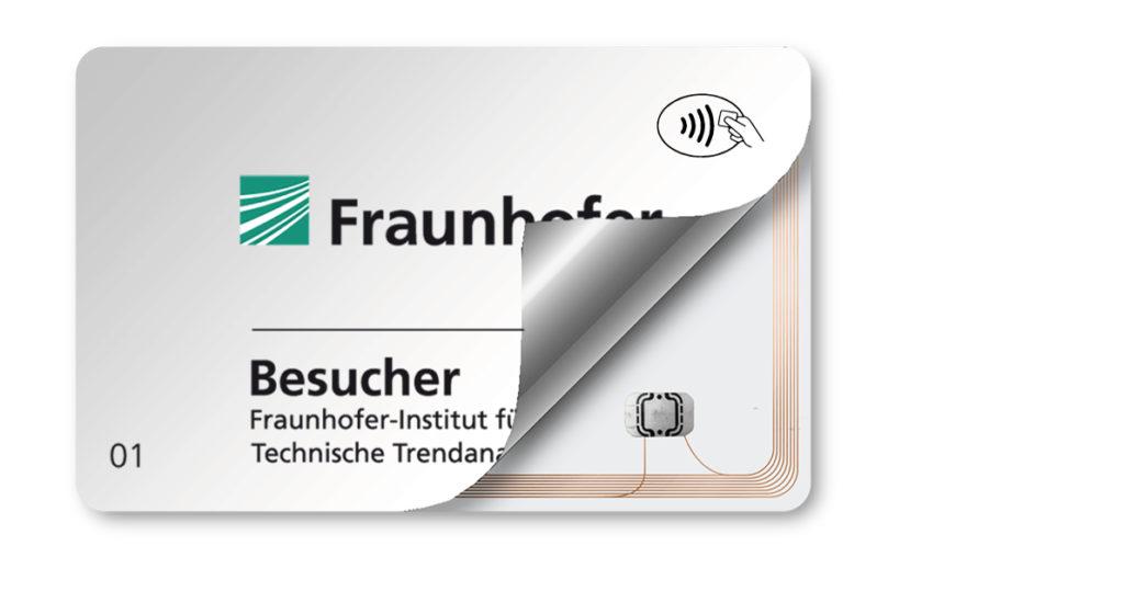 RFID-Plastikkarten