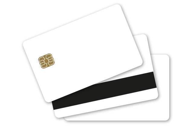 Blankokarten mit RFID