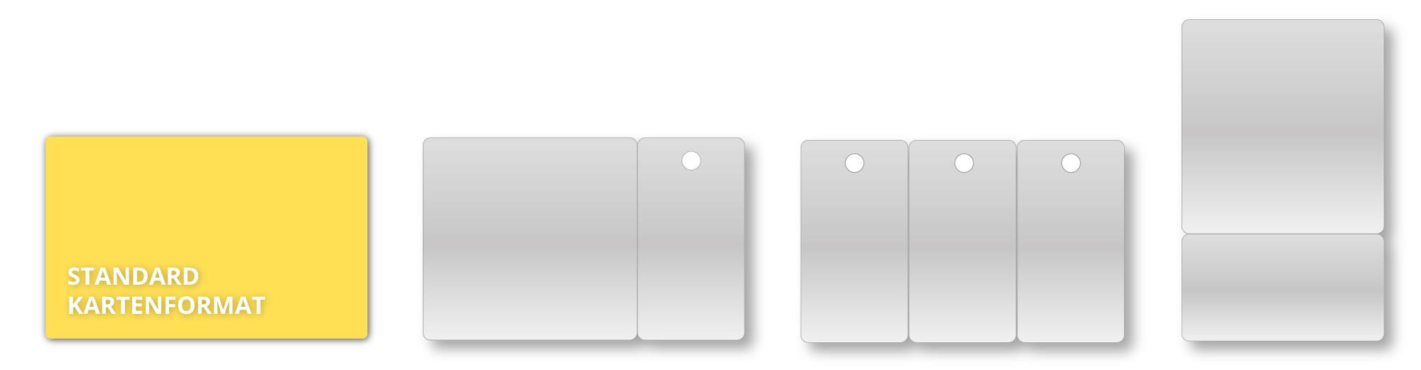 Keytagformen - GermanCard