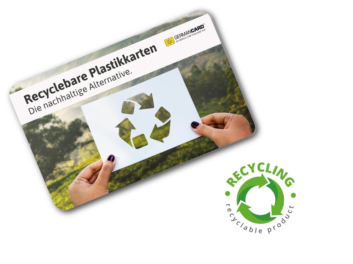Recyclebare Plastikkarten