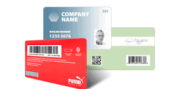Personalisierung von Plastikkarten